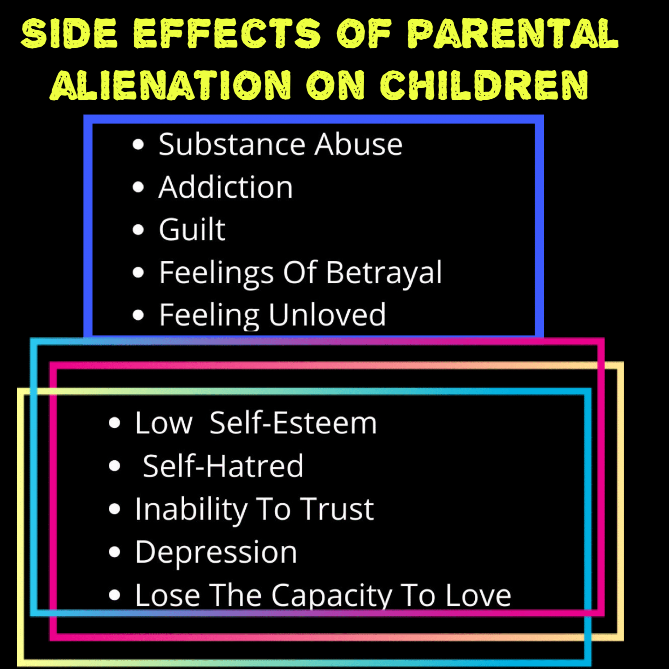 Parental Alienation: The Narcissist's Special Blend Of Torture